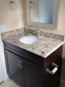 Granite Countertop and Cabinets