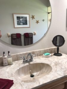 Cultured Marble Vanity Top with Integral Sink