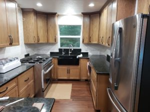 Cabinets, Countertops, Sink